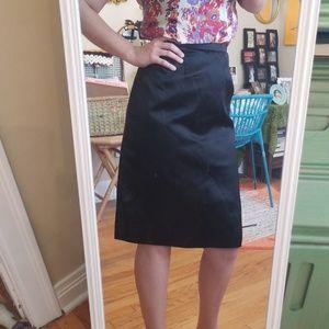VTG Style Blk Pencil Business Skirt!